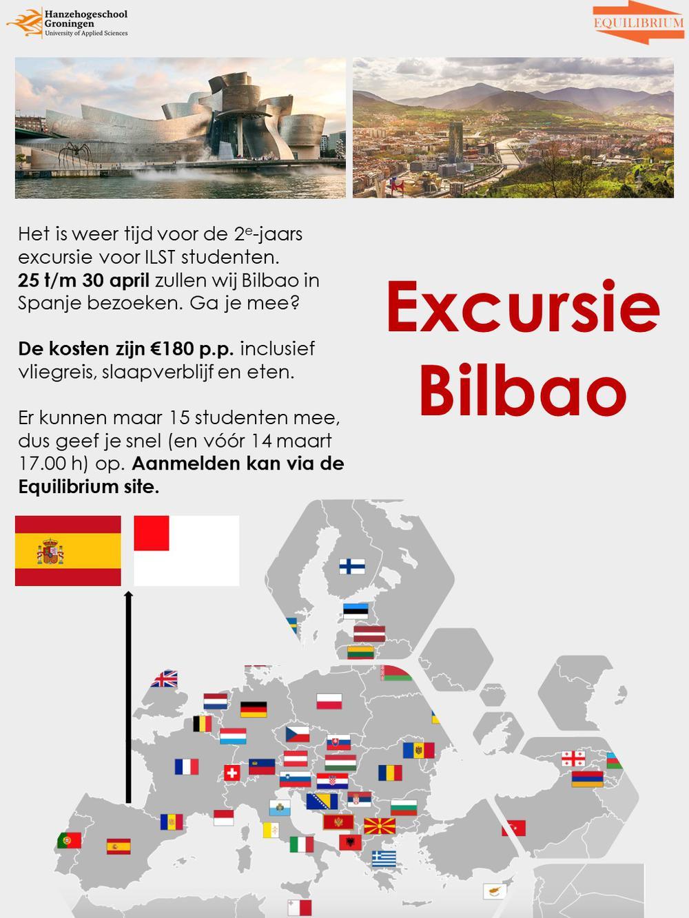 IC: Tweedejaarsreis; Bilbao