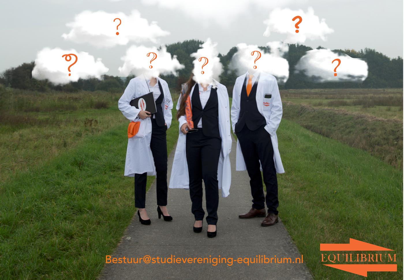 Equilibrium zoekt nieuw bestuur  voor collegejaar 2018-2019!!
